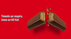 frase publicitaria famosa de kit kat