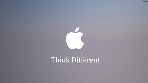 frase publicitaria de apple